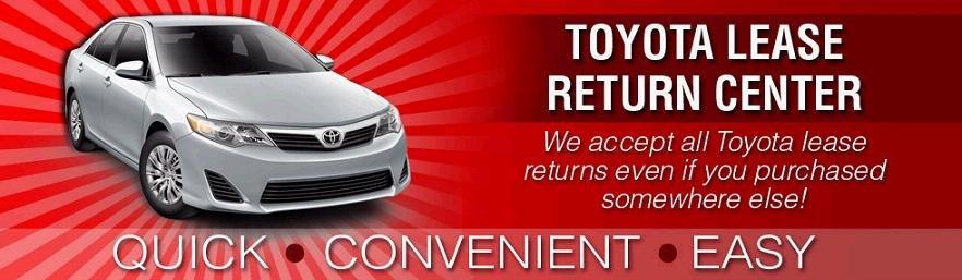 Anderson Toyota lease return center near Rockford IL