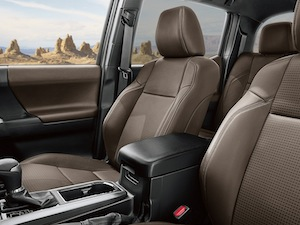 New Toyota Tacoma interior