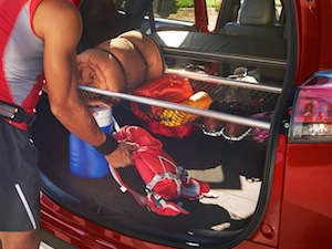 Cargo space in the new Toyota RAV4