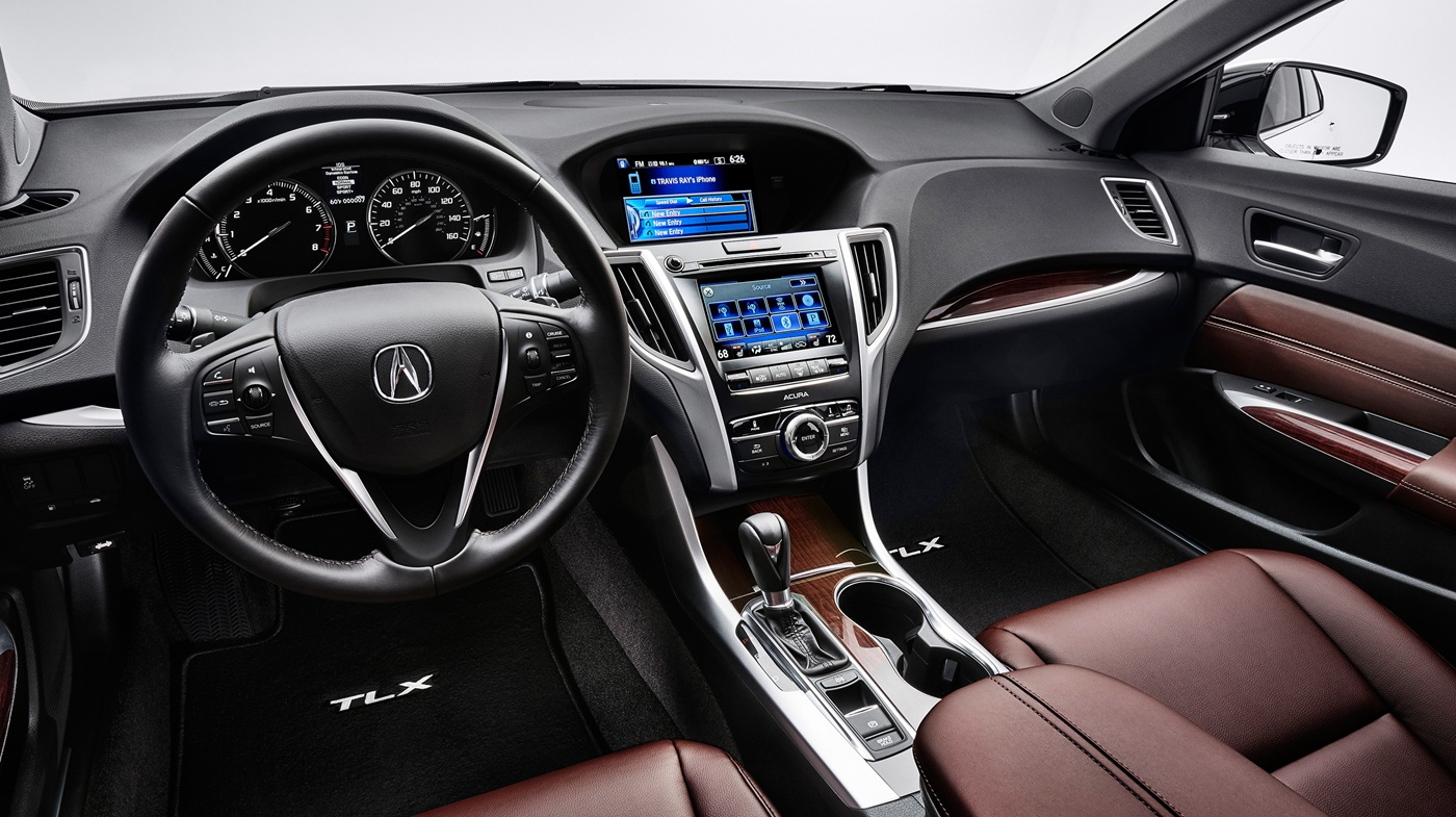 The Interior of the 2017 TLX is Stylish and Classy!