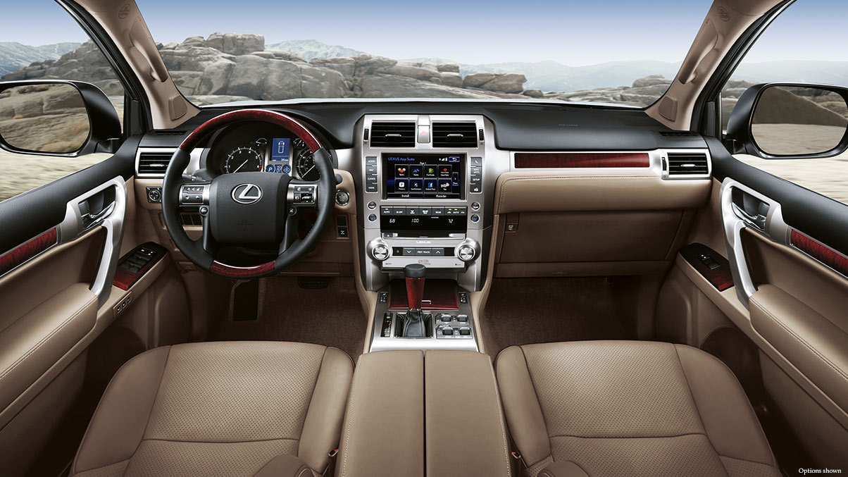 The Well-Equipped Interior of the GX 460 is Ideal!