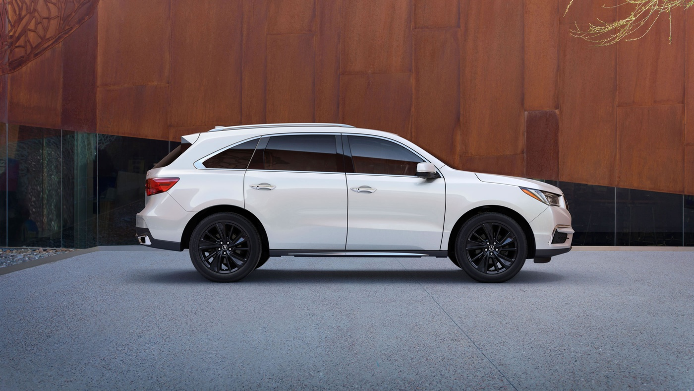 2017 acura mdx with advance package