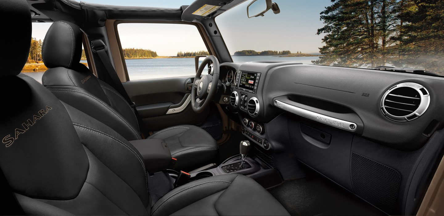 The Interior of the 2017 Wrangler Unlimited