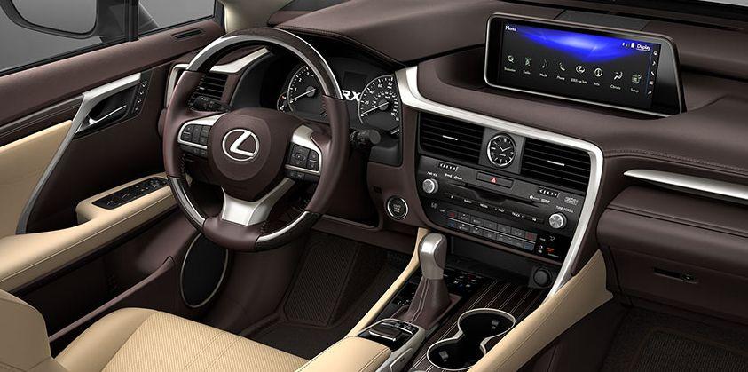 2017 RX 350 Interior