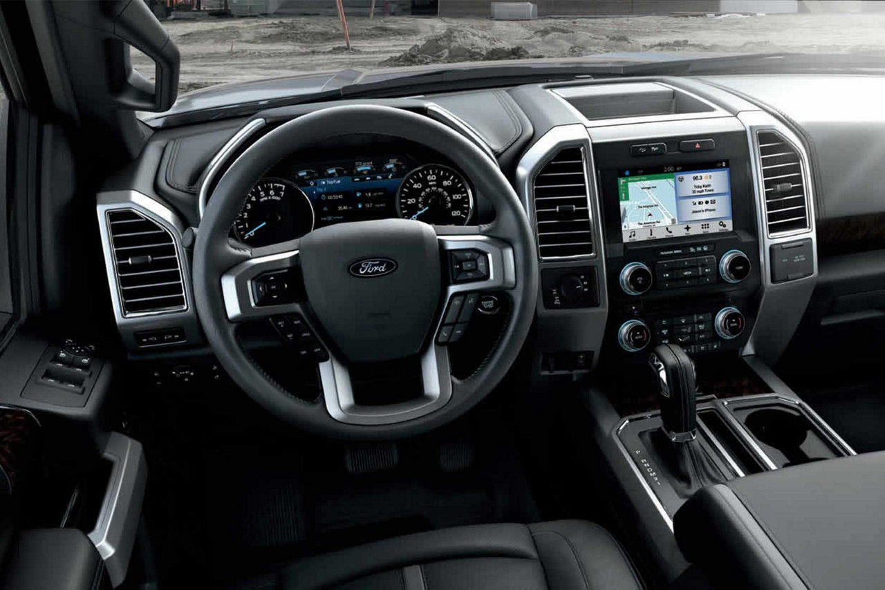 The Ford F-150 Interior