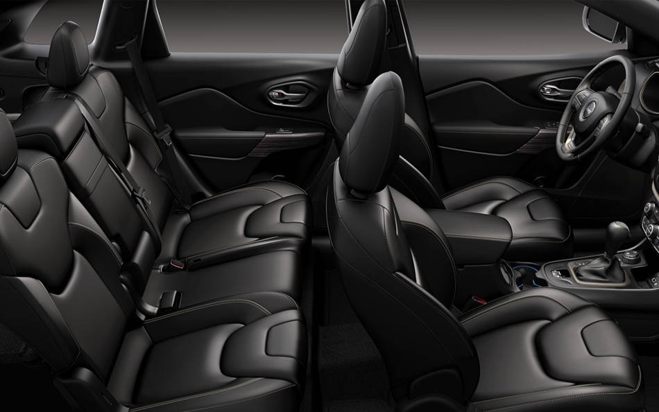 The Jeep Cherokee's Spacious 5-Passenger Cabin
