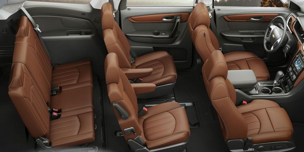 2017 Traverse Expansive 3-row Seating