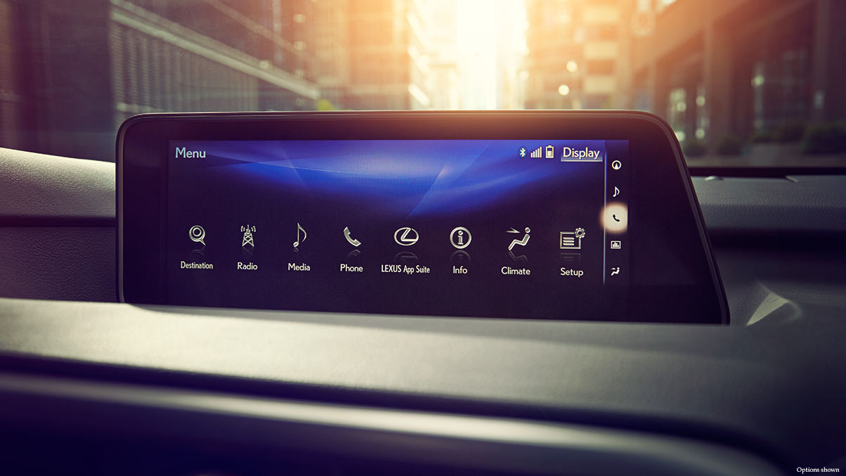 The Available 12.3-in Multimedia Touchscreen in the 2017 RX 350