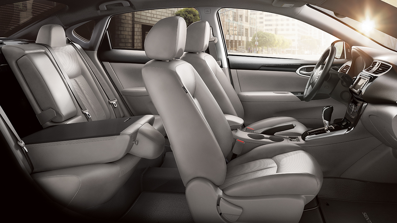 The Roomy Cabin of the 2017 Sentra