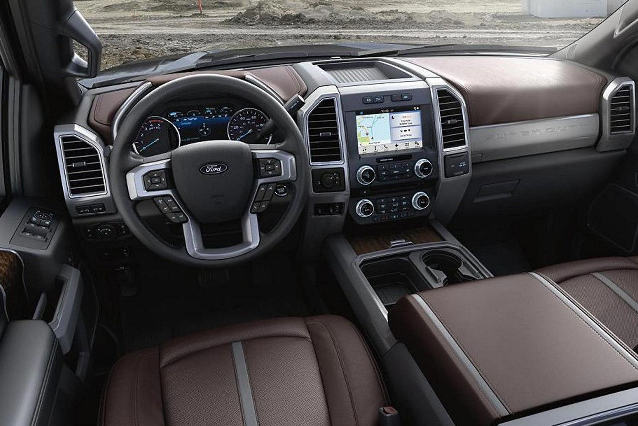 Available Interior of the Ford F-350 Super Duty