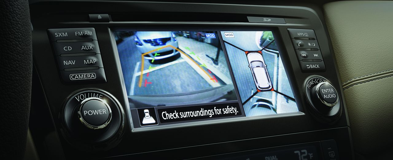Nissan AroundView Monitor®