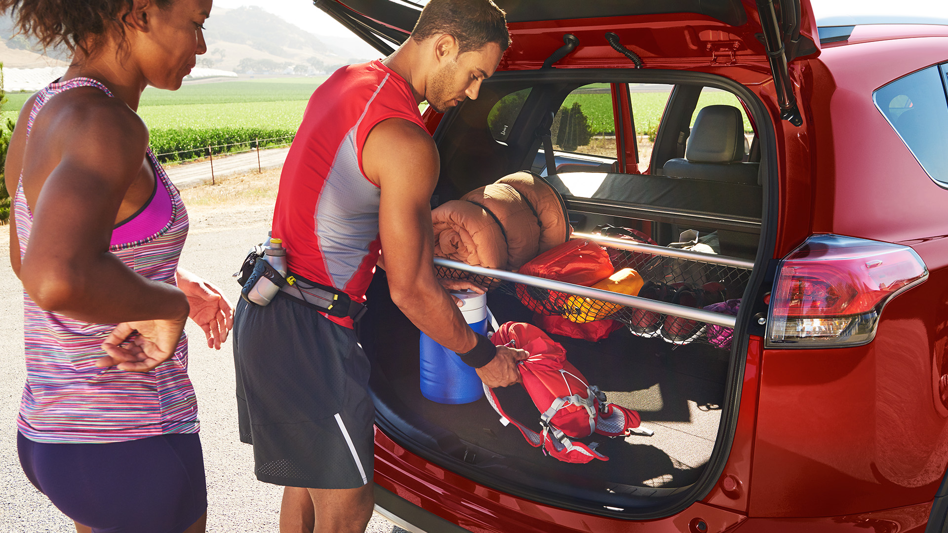Spacious Cargo Accommodations in the RAV4