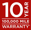 10 Year Warrany