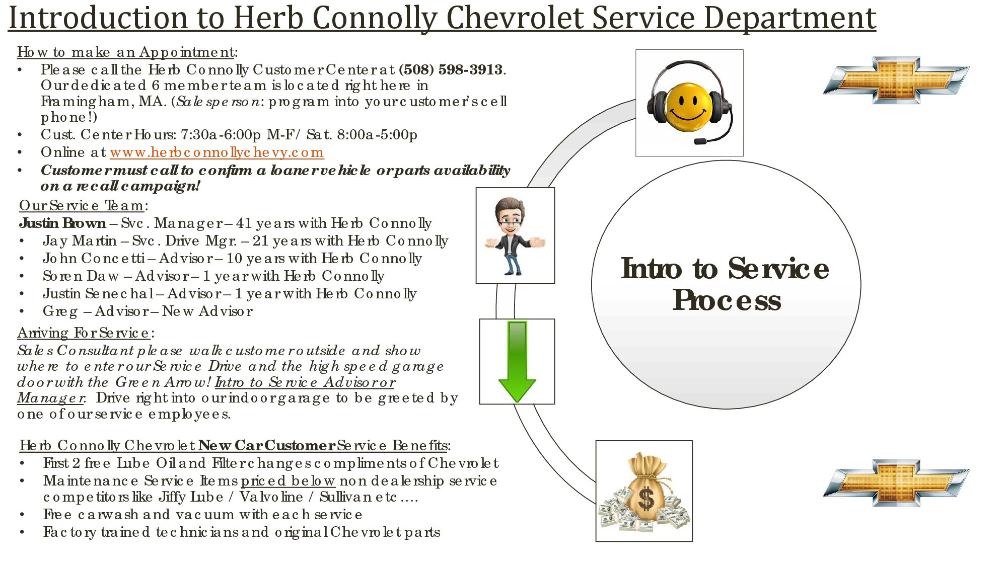 service auto repair department herb connolly chevrolet. Cars Review. Best American Auto & Cars Review