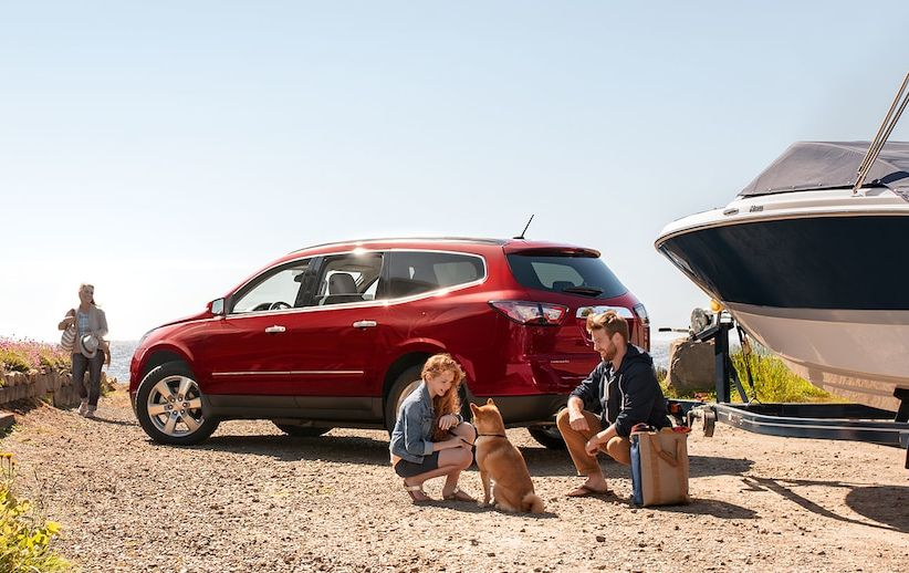 2017 Chevy Traverse Leasing near Kansas City, MO