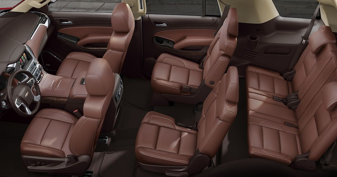 Spacious Seating in the 2017 Tahoe