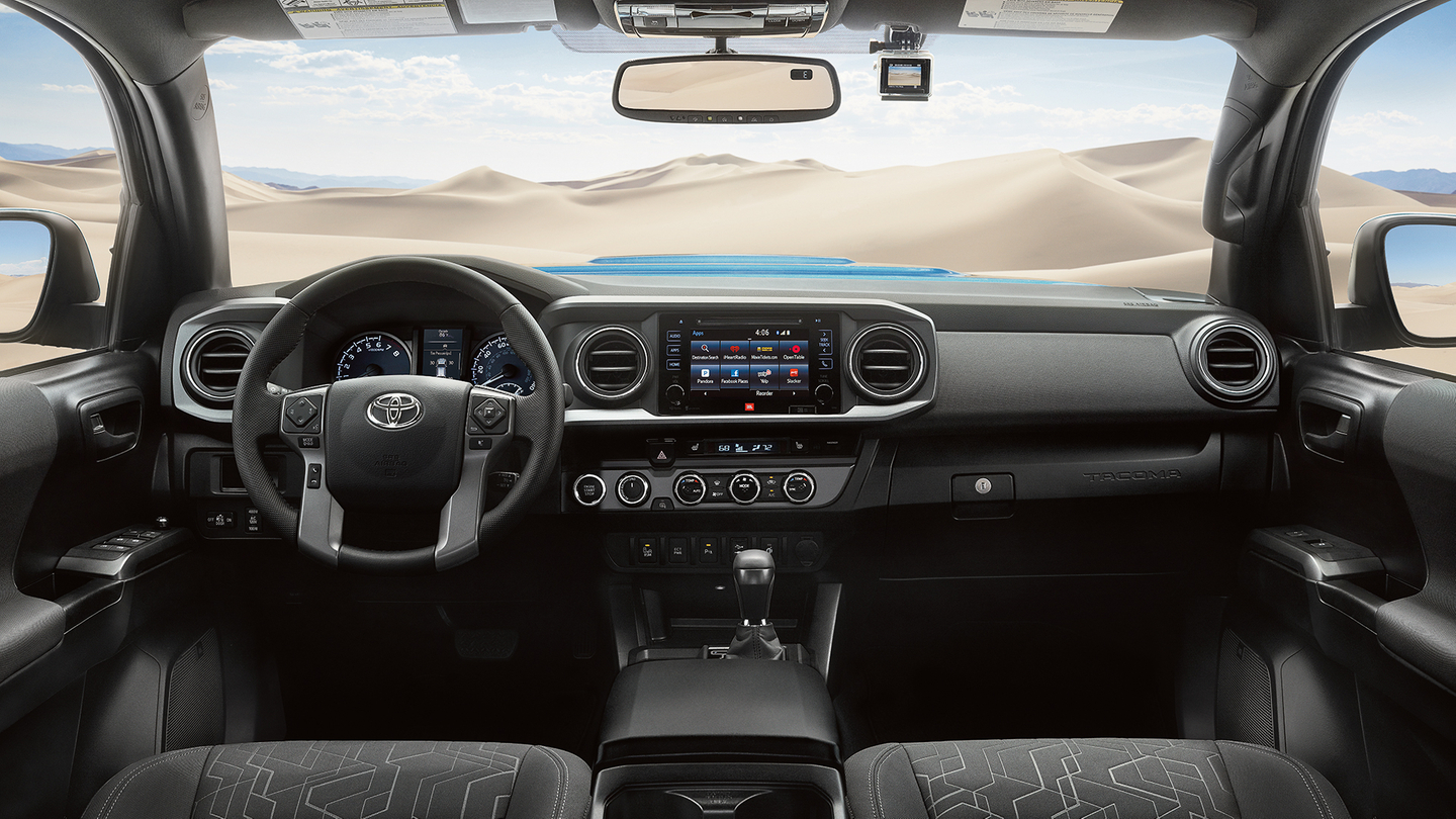 Interior of the 2017 Tacoma