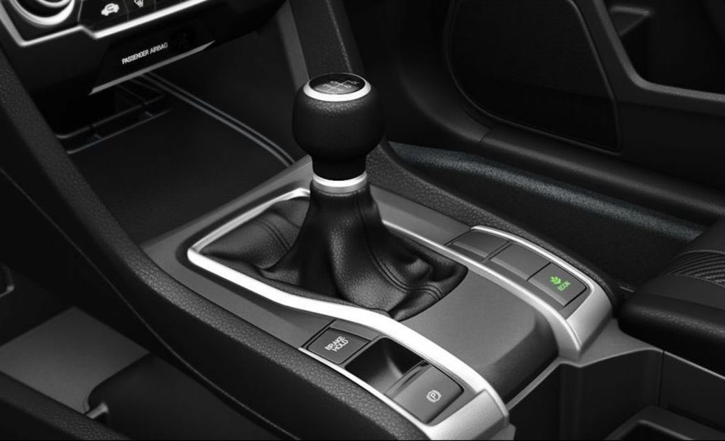 6-speed Manual Transmission in the Civic