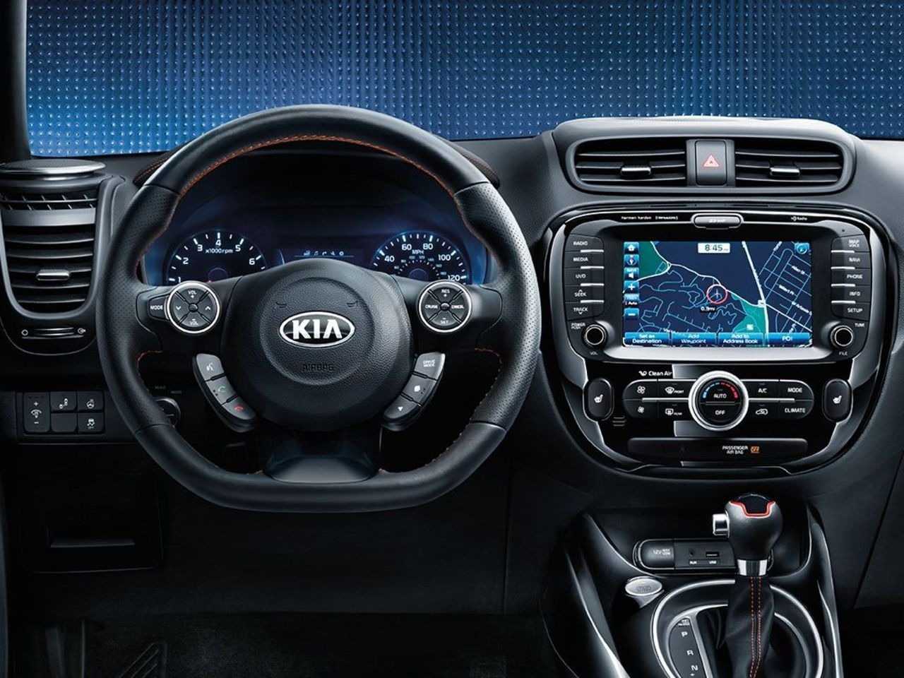 The Interior of the Kia Soul