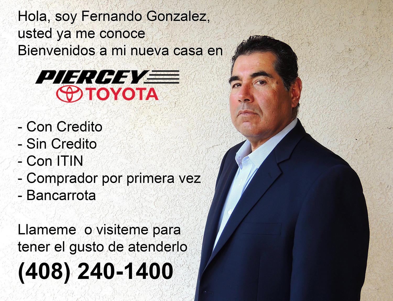 Concesionario Toyota de habla hispana San Jose Fremont Bay Area