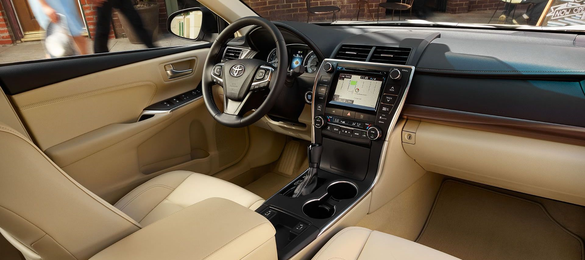 Comfortable and Secure Interior of the 2017 Camry