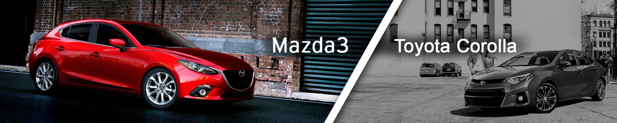 Mazda3 v. Toyota Corolla
