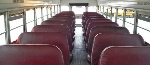 Interior of Our Transit Buses