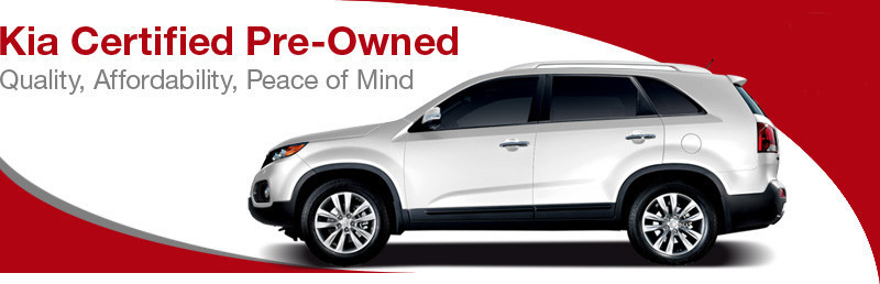 Kia Certified Pre Owned Vehicles Provide Their Owners With Assurance That  They Have Purchased A Quality Used Vehicle. Every Kia Certified Pre Owned  Vehicle ...